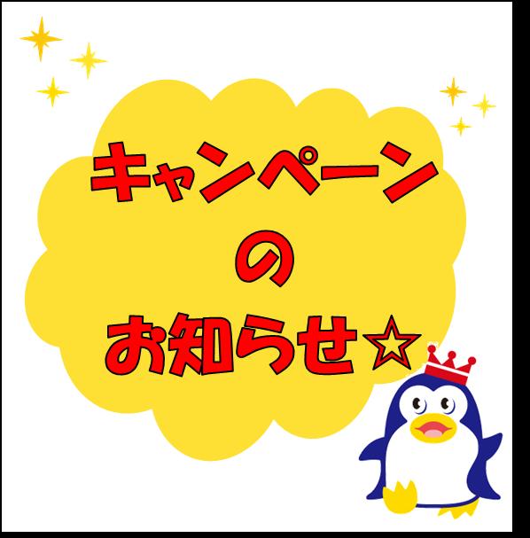 キャンペーンのお知らせ☆彡の画像