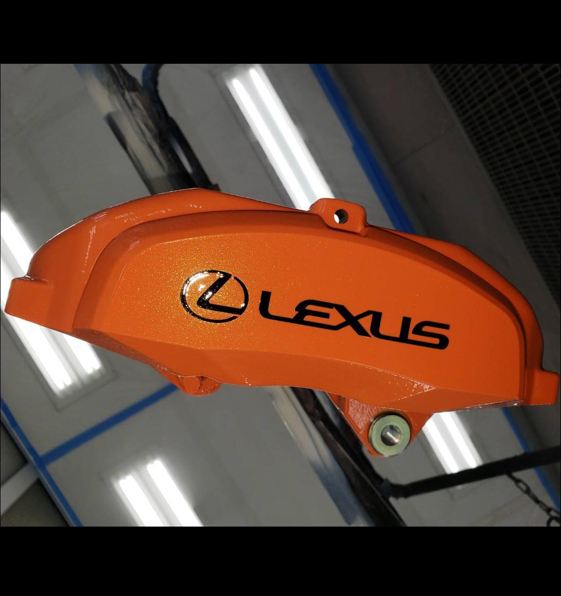 山形県 山形市 ブレーキキャリパー 塗装 レクサス LEXUSの画像