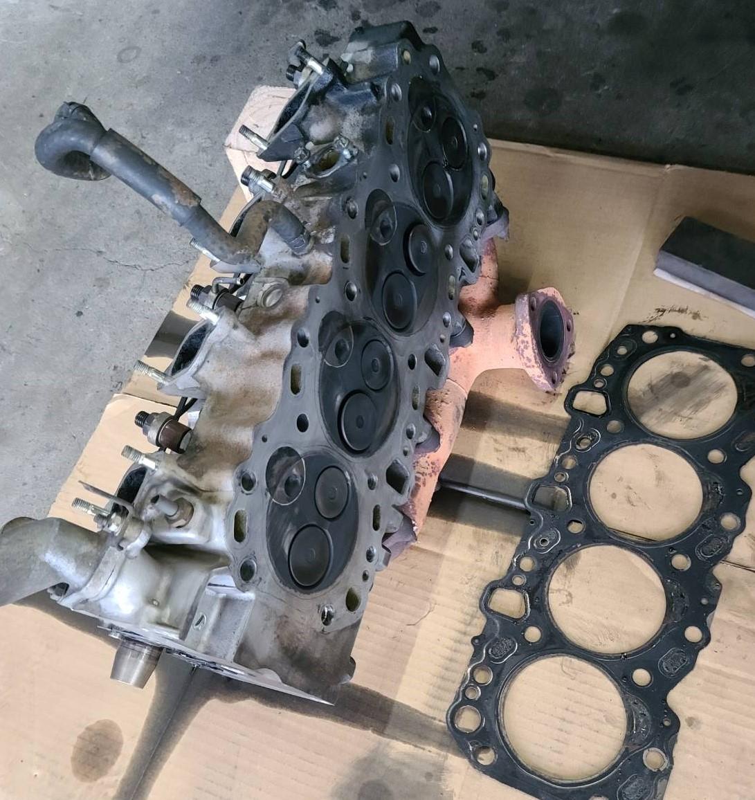 山形県 山形市 整備 車両整備 一般整備 エンジン不具合 エンジン トヨタ ランクルプラドの画像